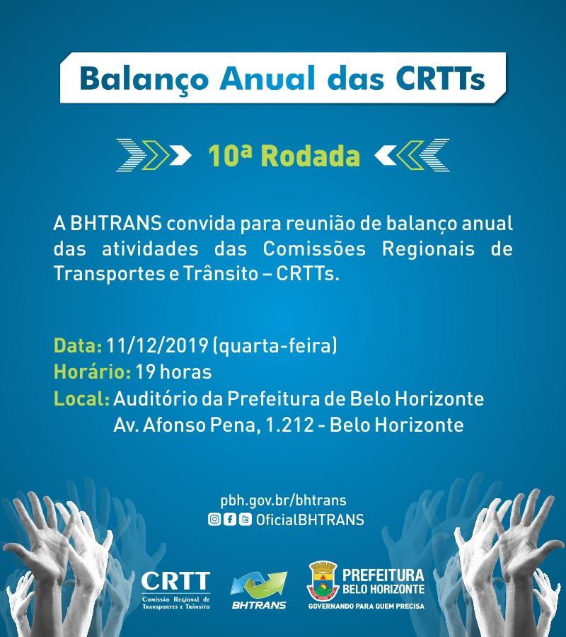 Reunião de Balanço CRTTS 2019