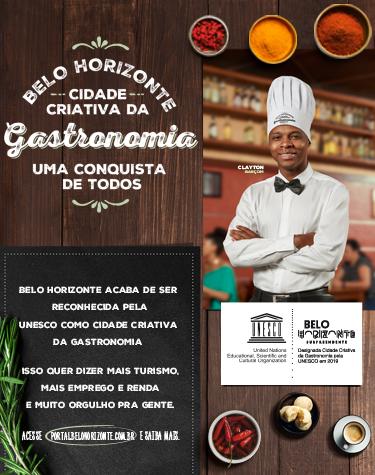Belo Horizonte cidade criativa da gastronomia