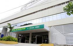 Fachada do Hospital Metropolitano